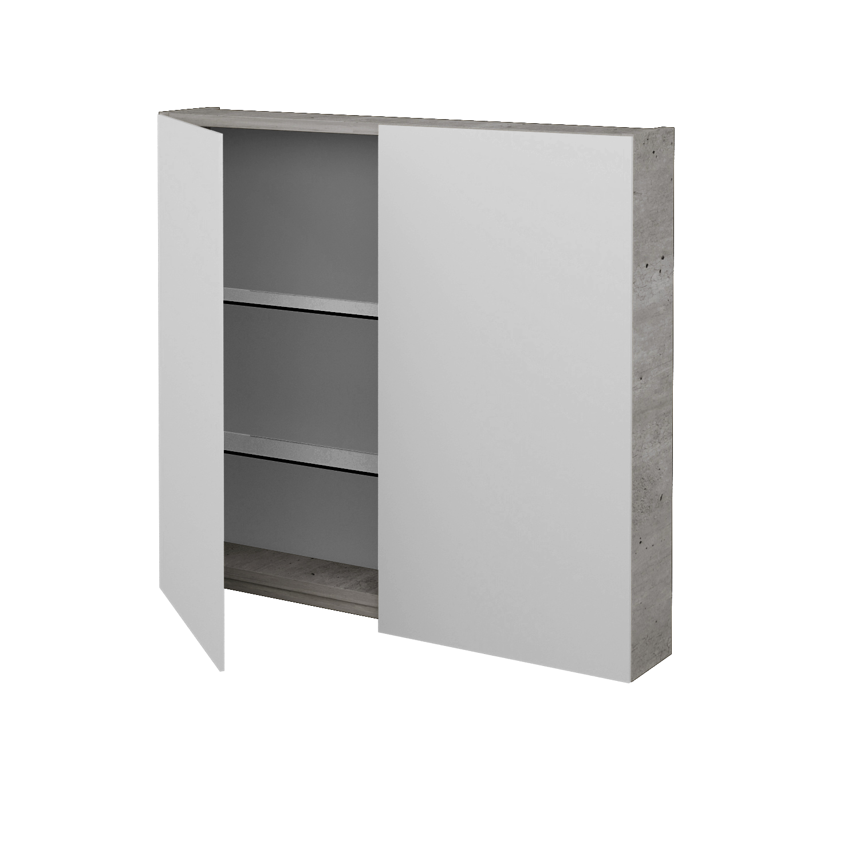 badezimmer spiegelschrank ambiente ga2e 80 badm bel bmf. Black Bedroom Furniture Sets. Home Design Ideas